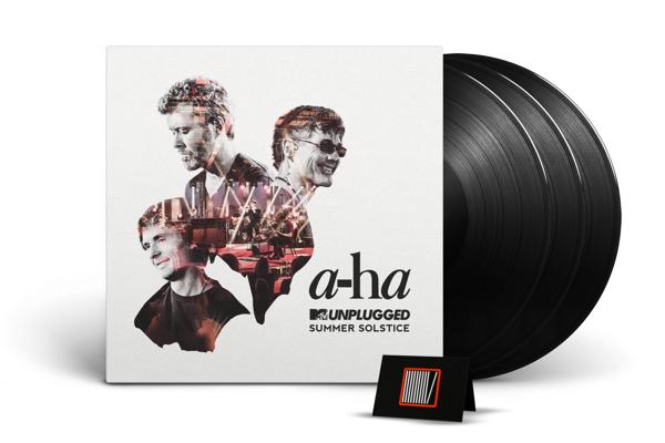 A-HA Mtv Unplugged - Summer Solstics  3LP