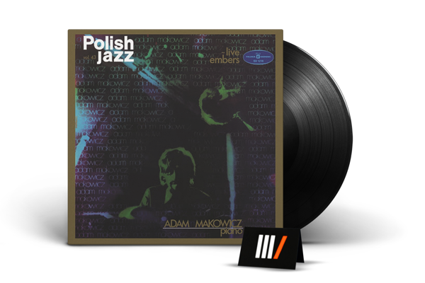 ADAM MAKOWICZ Live Embers LP POLISH JAZZ