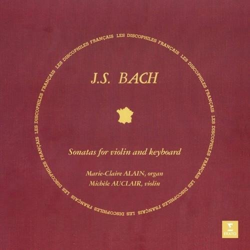 ALAIN/AUCLAIR Bach: Sonatas For Violin And Keyboard 2LP