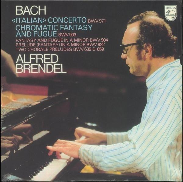 ALFRED BRENDEL Bach Italian Concerto LP