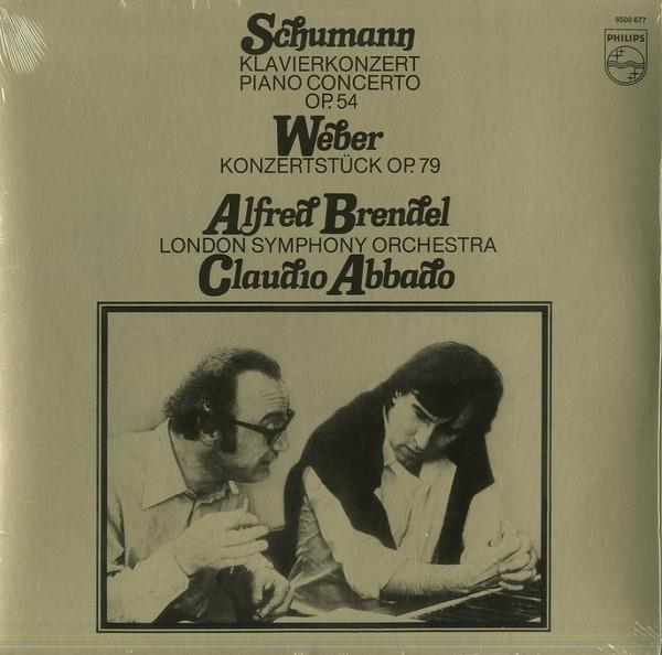 ALFRED BRENDEL Schumann Piano Concerto LP
