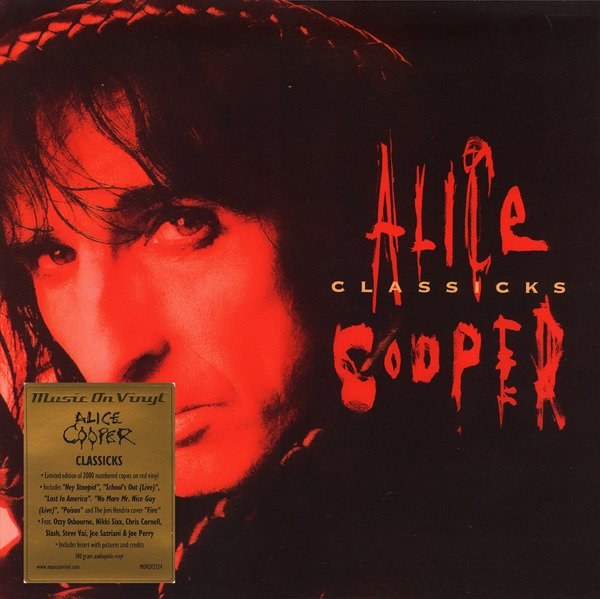 ALICE COOPER Classicks COLOURED 2LP