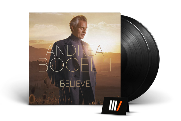 ANDREA BOCELLI Belive 2LP
