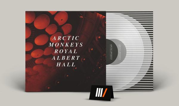 ARCTIC MONKEYS Live At The Royal Albert Hall 2LP CLEAR