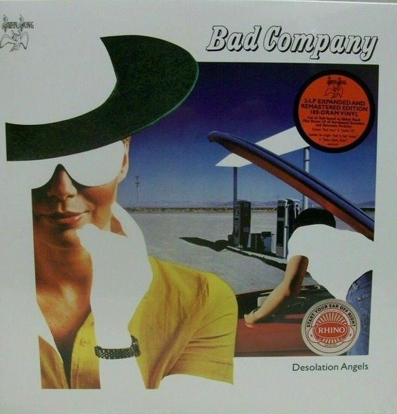 BAD COMPANY Desolation Angels (40TH Anniversary Edition) LP