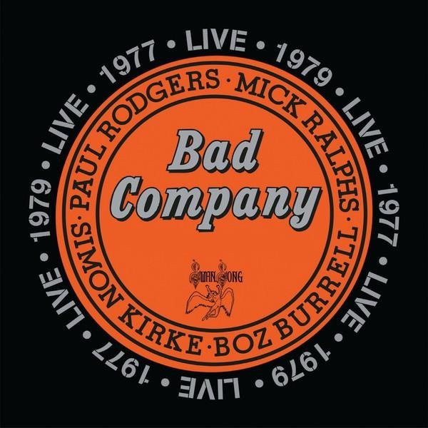 BAD COMPANY Live 1977 2LP