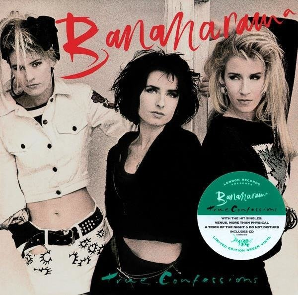 BANANARAMA True Confessions  LP+CD