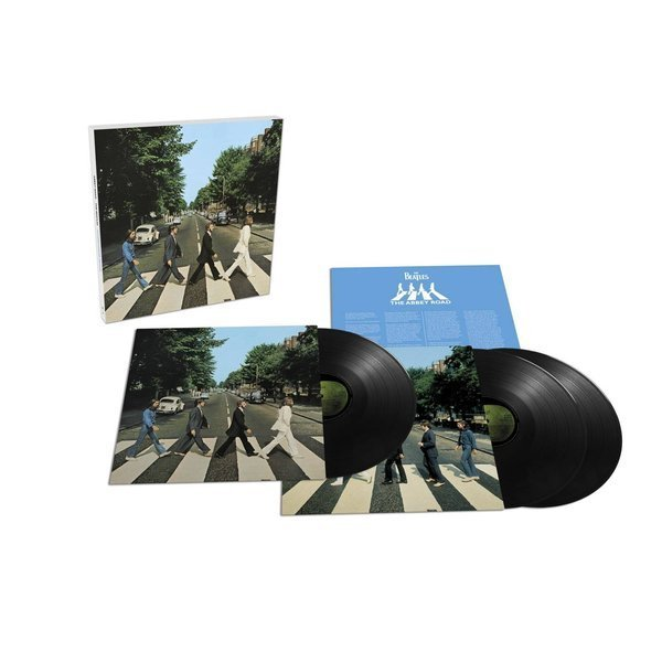 BEATLES Abbey Road 3LP
