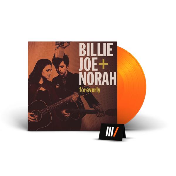 BILLIE JOE ARMSTRONG & NORAH JONES Foreverly LP ORANGE