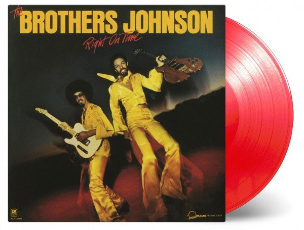 BROTHERS JOHNSON Right On Time LP