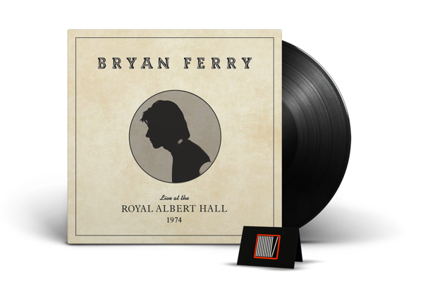 BRYAN FERRY Live At The Royal Albert Hall 1974 LP