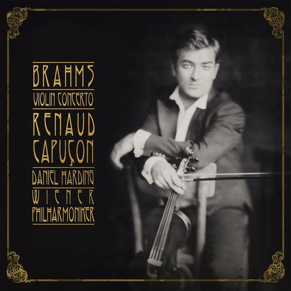 CAPUCON, RENAUD/WIENER PHILHARMONIKER/DANIEL HARDING Brahms: Violin Concerto LP