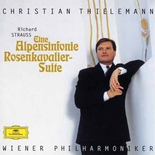 CHRISTIAN THIELEMANN Strauss An Alpine Symphony LP