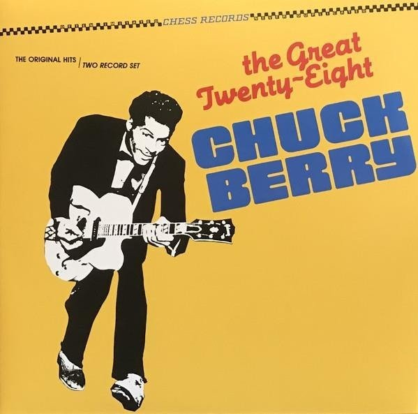 CHUCK BERRY The Great Twenty-Eight  2LP