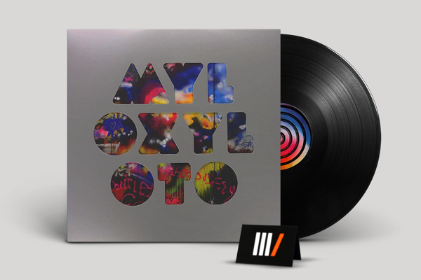 COLDPLAY Mylo Xyloto LP