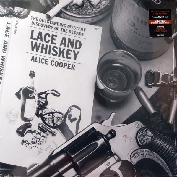 COOPER, ALICE Lace And Whiskey (BROWN Vinyl) LP