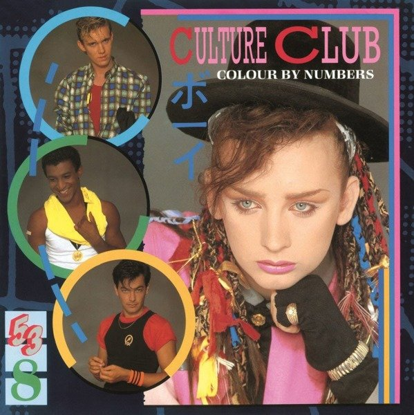CULTURE CLUB Colour By Numbers LP