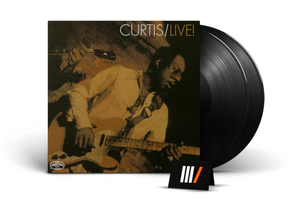 CURTIS MAYFIELD Curtis/Live! 2LP