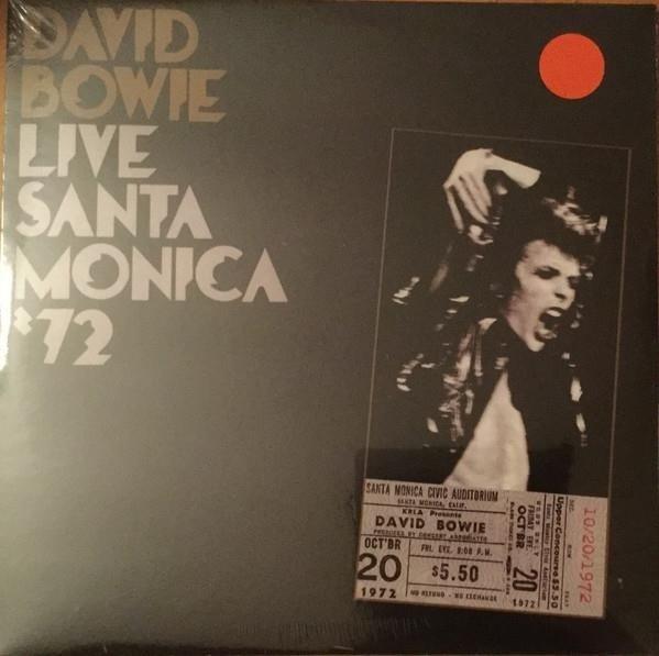 DAVID BOWIE Live Santa Monica '72 2LP