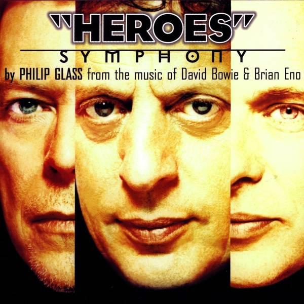 DAVID BOWIE/PHILIP GLASS/BRIAN ENO Heroes Symphony (White Vinyl) LP