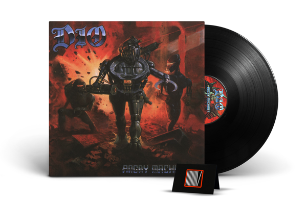 DIO Angry Machines LP 3D Lenticular Cover