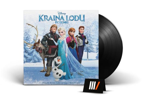 DISNEY Kraina Lodu Piosenki OST LP