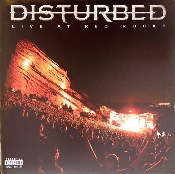 DISTURBED Live At Red Rocks 2LP