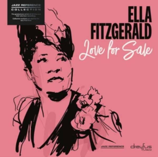 ELLA FITZGERALD Love For Sale LP