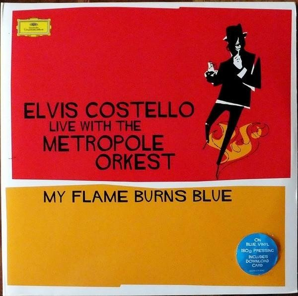 ELVIS COSTELLO My Flame Burns Blue 2LP