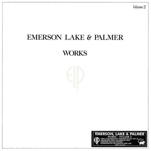 EMERSON, LAKE & PALMER Works Volume 2 LP
