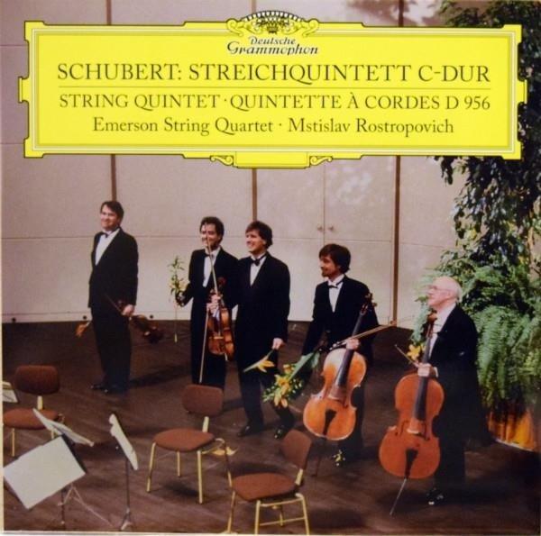 EMERSON STRING QUARTET Schubert Strin Quintet In C Major LP