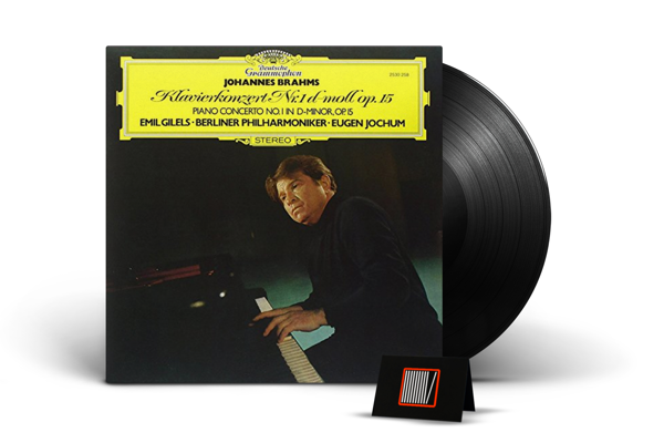 EMIL GILELS Brahms Piano Concerto LP