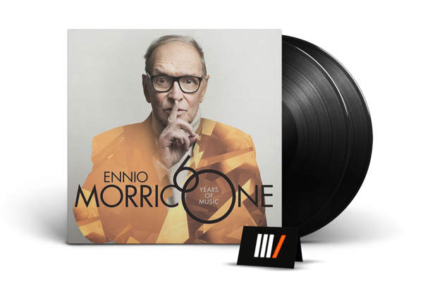 ENNIO MORRICONE 60 Years Of Music 2LP