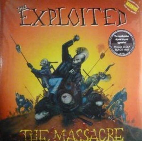 EXPLOITED, THE The Massacre 2LP
