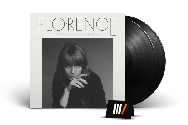 FLORENCE & THE MACHINE How Big, How Blue, How Beautiful 2LP