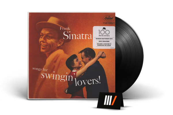FRANK SINATRA Songs For Swingin' Lovers. LP