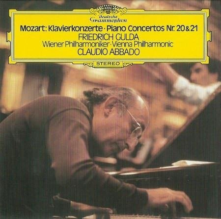 FRIEDRICH GULDA Mozart Piano Concertos 20 & 21 LP