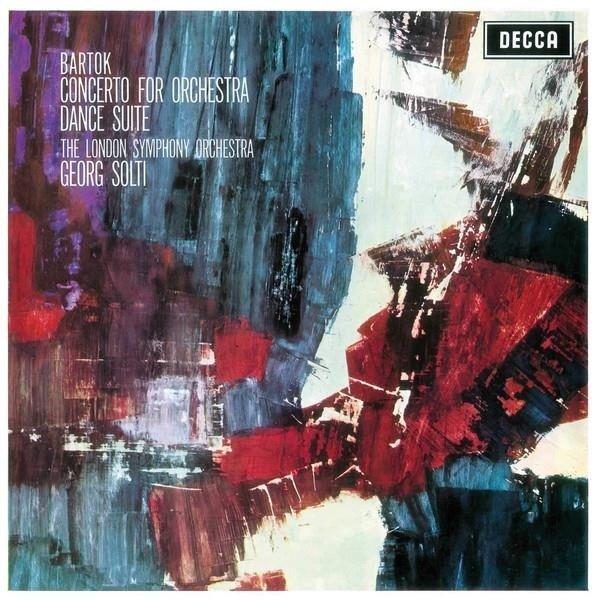 GEORG SOLTI Bartok Concerto For Orchestra LP
