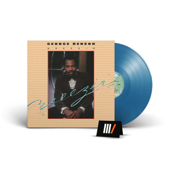 GEORGE BENSON Breezin' LP BLUE