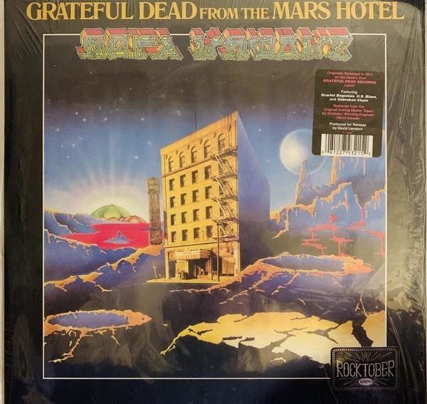 GRATEFUL DEAD From The Mars Hotel LP