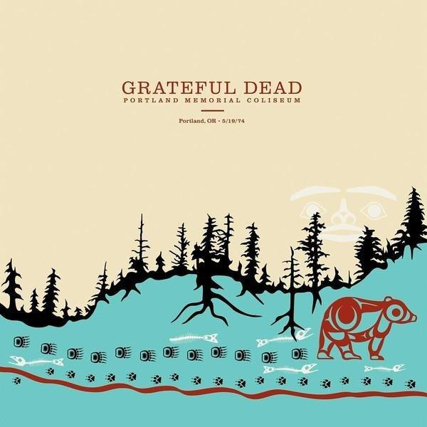 GRATEFUL DEAD Portland Memorial Coliseum, Portland, Or, 5/19/74 LP