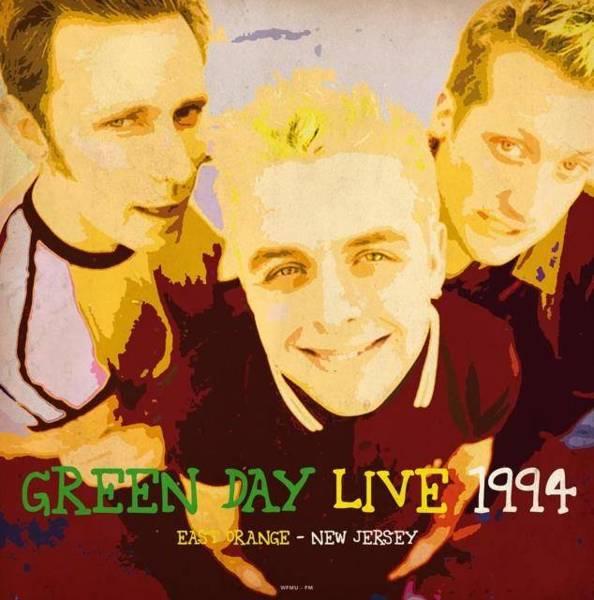 GREEN DAY Live At Wfmu-Fm East Orange New Jersey August 1st 1994 (Green Vinyl) LP