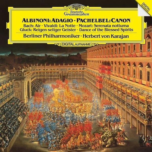 HERBERT VON KARAJAN Albinioni & Pachelbel LP