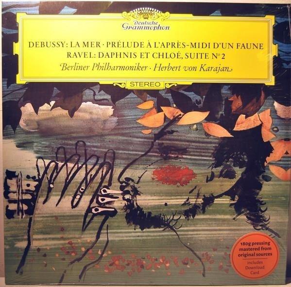 HERBERT VON KARAJAN Debussy, Ravel LP