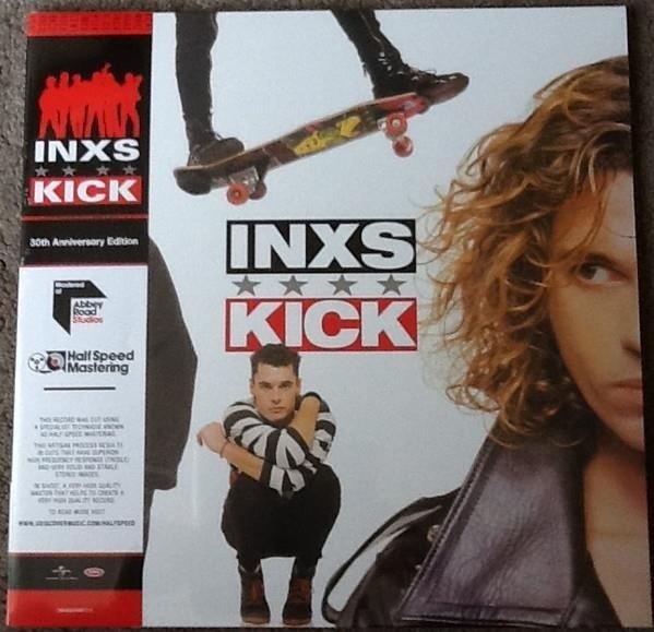 INXS Kick  (HALF Speed Red) 2LP