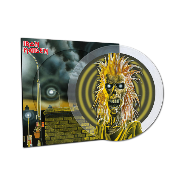 IRON MAIDEN Iron Maiden LP PICTURE DISC