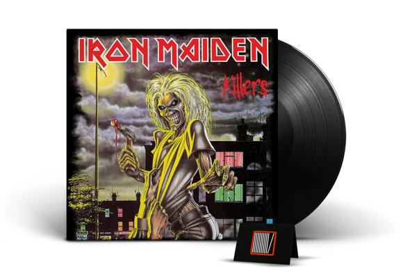 IRON MAIDEN Killers (LIMITED) LP