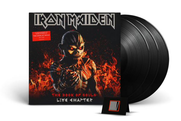IRON MAIDEN The Book Of Souls: Live Chapter 3LP