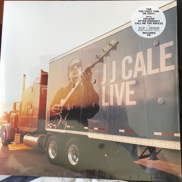 J.J. CALE Live 2LP+CD