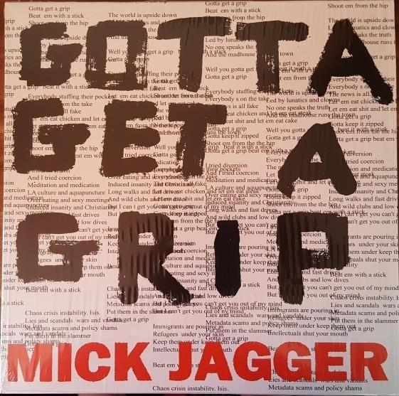 JAGGER, MICK Gotta Getta Grip / England Lost VINYL SINGLE